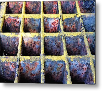 Metal Print featuring the photograph Aging Steel by Olivier Calas