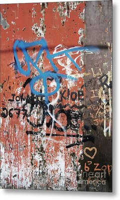Aging Walls Metal Print by Reb Frost