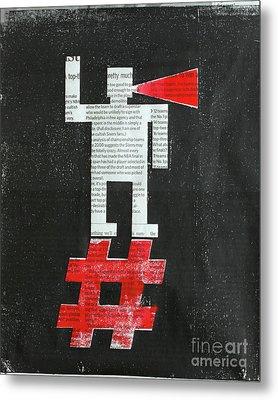 Agitator Metal Print