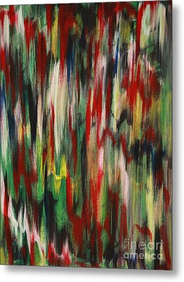 Metal Print featuring the painting Agony by Jacqueline Athmann