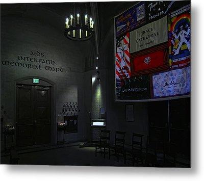 Aids Interfaith Memorial Chapel - San Francisco Metal Print by Daniel Hagerman