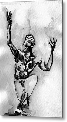 Ailey Metal Print by Howard Barry