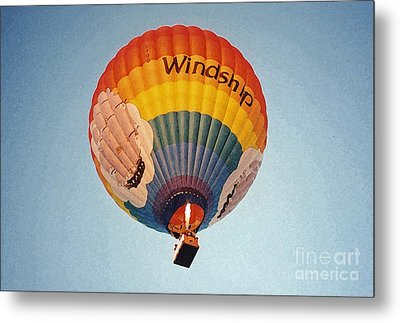 Air Balloon Metal Print by Sonya Chalmers