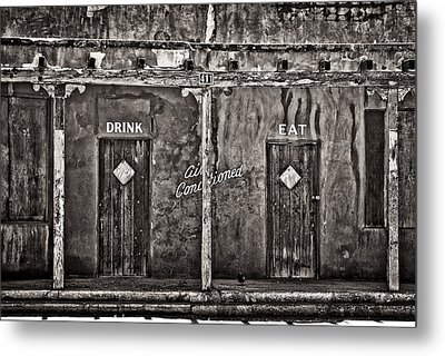 Air Conditioned Metal Print