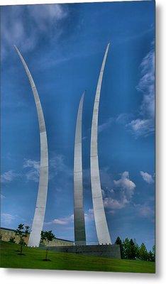 Air Force Memorial Iv Metal Print by Steven Ainsworth