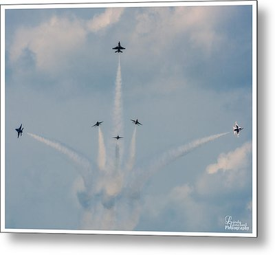 Air Force Thunderbirds Metal Print