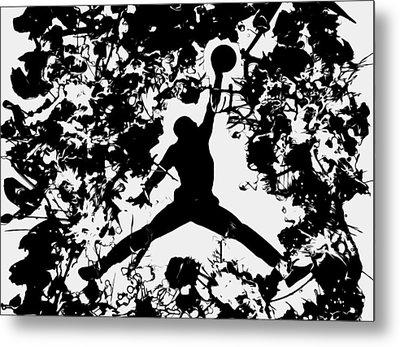 Air Jordan 1c Metal Print by Brian Reaves