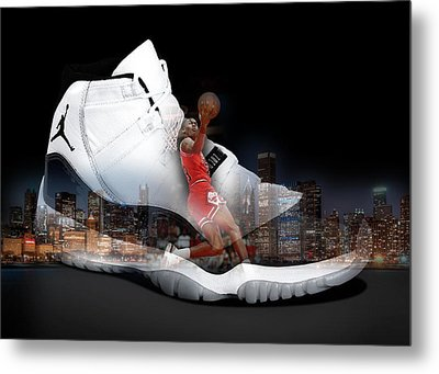 Air Jordan Chicago Metal Print