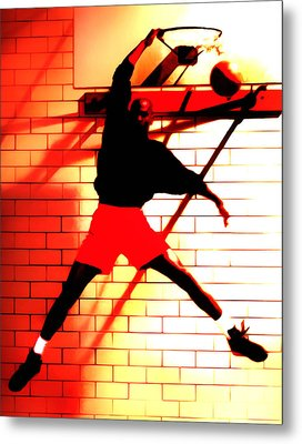Air Jordan Where It All Started Metal Print by Brian Reaves