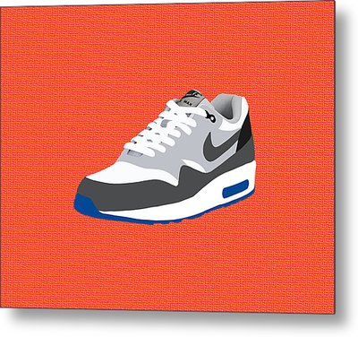 Air Max 1 Metal Print by Mark Rogan