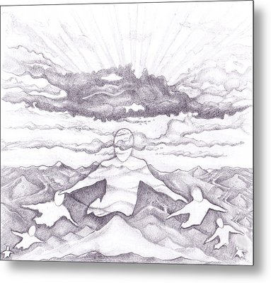 Air Spirit 15 Metal Print by Alma
