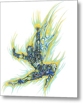 Air Spirit 19 Metal Print by Alma