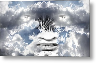 Air Spirit 6 Metal Print by Alma