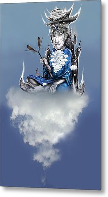 Air Spirit 8 Metal Print by Alma