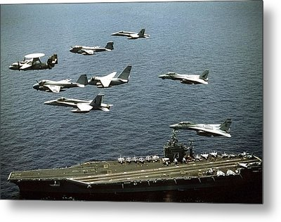 Aircraft Assigned Metal Print by Everett