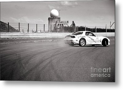 Airfield Drifting Metal Print by Andy Smy