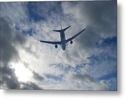 Airliner 01 Metal Print by Mark Alan Perry