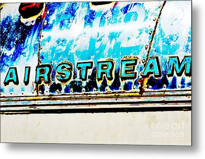 Airstream Metal Print