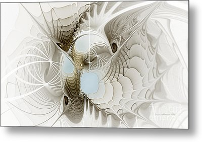 Airy Space2 Metal Print by Karin Kuhlmann