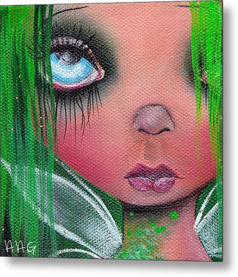 Aislin Metal Print by  Abril Andrade Griffith