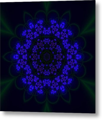 Akabala Lightmandala Metal Print