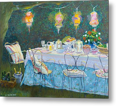 Al Fresco  Metal Print by William Ireland