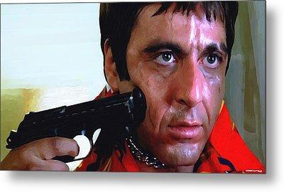 Al Pacino @ Scarface #1 Metal Print by Gabriel T Toro