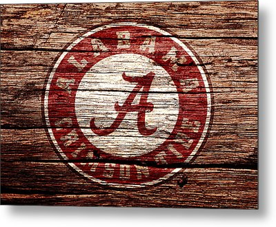 Alabama Crimson Tide 1a Metal Print