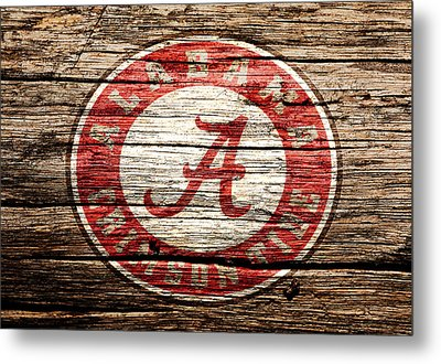 Alabama Crimson Tide Metal Print