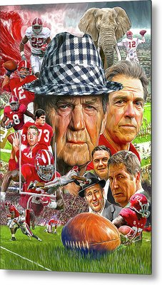 Alabama Crimson Tide Metal Print by Mark Spears