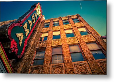 Alabama Theater Sign 2 Metal Print by Phillip Burrow