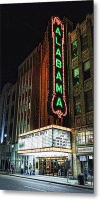 Alabama Theater Metal Print by Stephen Stookey