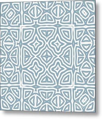 Alahambra Blue Metal Print by Mindy Sommers