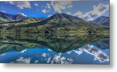 Alaskan Reflections Metal Print