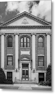Albany College Of Pharmacy O' Brien Building Metal Print by University Icons