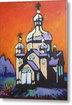Alberta Church Metal Print