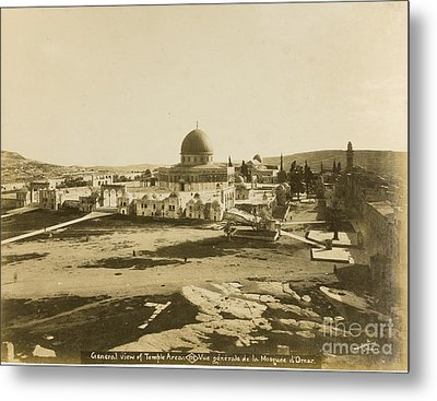 Album Of Photographs Of Jerusalem And The Holy Land Metal Print