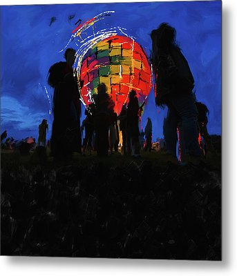 Albuquerque International Balloon Fiesta 251 1 Metal Print by Mawra Tahreem