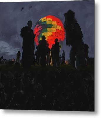 Albuquerque International Balloon Fiesta 251 2 Metal Print by Mawra Tahreem