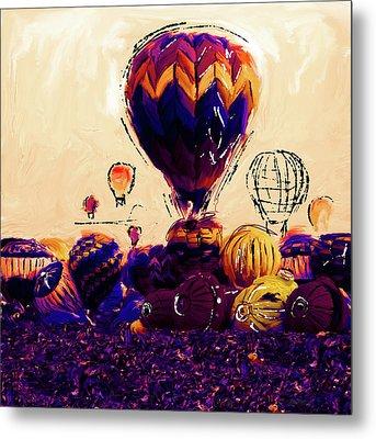 Albuquerque International Balloon Fiesta 252 2 Metal Print by Mawra Tahreem