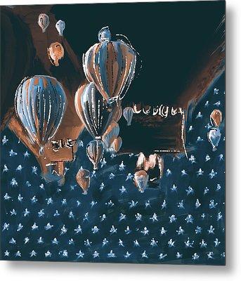 Albuquerque International Balloon Fiesta 5 256 2 Metal Print