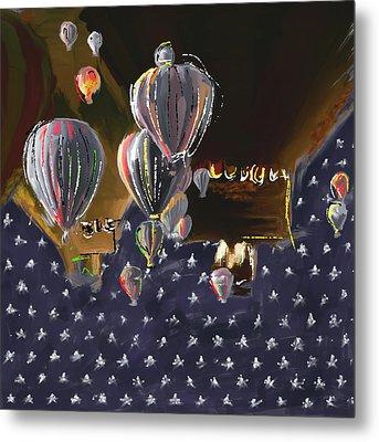 Albuquerque International Balloon Fiesta 5 256 3 Metal Print