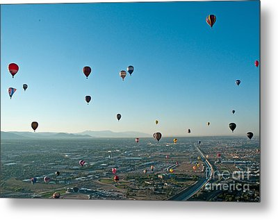Albuquerque View Metal Print
