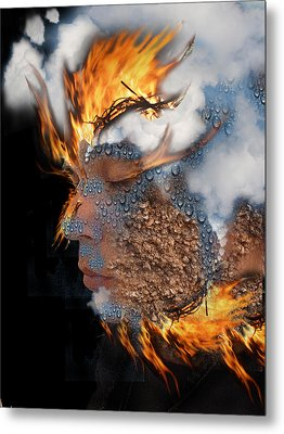 Alchemy 7 Metal Print by Alma