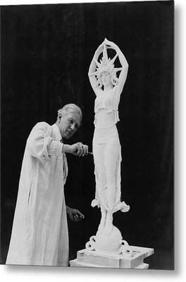 Alexander Calder 1870-1945, Working Metal Print