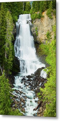 Metal Print featuring the photograph Alexander Falls - 2 by Stephen Stookey