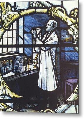 Alexander Fleming, Scottish Biologist Metal Print by Science Source