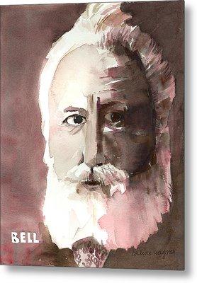 Alexander Graham Bell Metal Print by Arline Wagner