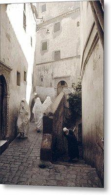 Algiers Casbah Metal Print