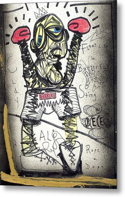 Ali Metal Print by Robert Wolverton Jr